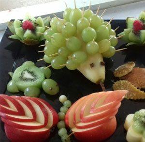 Porcospino-di-frutta